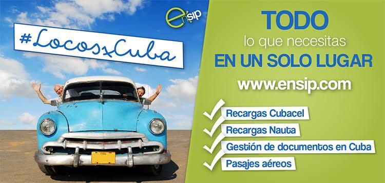 Recarga Internet Cubacel llamas envías SMS a Cuba