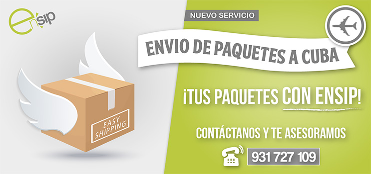 Envío paquetes a Cuba