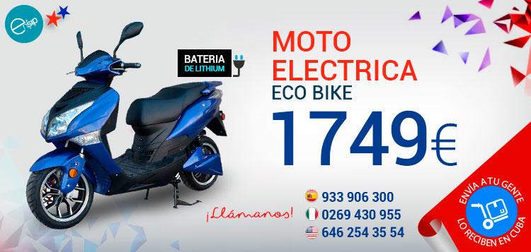 Enviamos motos electricas a Cuba