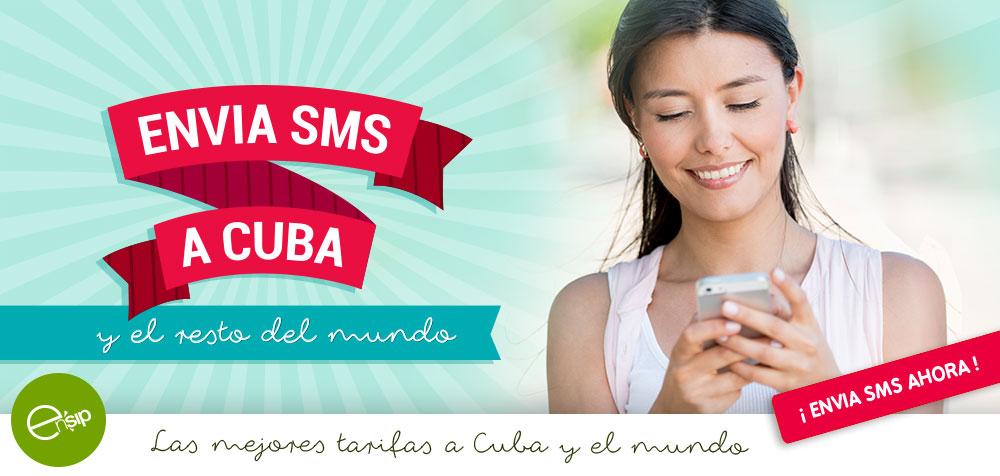 SMS A CUBA Y EL MUNDO