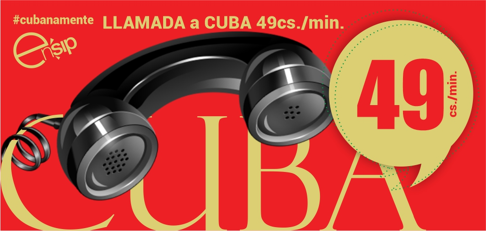 LLAMA A CUBA POR 45 CENTIMOS