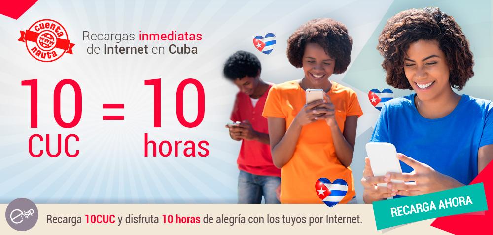 RECARGA NAUTA A CUBA
